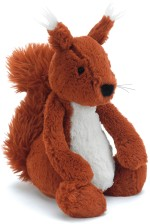 Jellycat Soft Toys Jellycat Bashful Squirrel 7.08 inch
