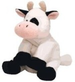 Ty Soft Toys Ty Pluffies Milkers Cow