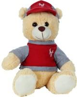 Giftwish Cute Teddy Bear With Cap Beige Soft Stuffed Toy  - 12 Inch (Beige)