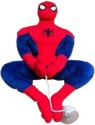 Marvel Spiderman 10 inch Toy with Vacuum Holder in Web Pose  - 10 Inch - Red, Blue