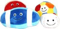 Play N Pets Set Of Four Soft Balls  - 16 Cm (Multicolor)