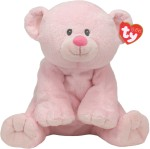 Ty Soft Toys Ty Woods Pink Bear Pluffies 8.5 inch
