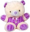 Prince Teddy Bear  - 17 Inch - Purple