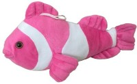 Atc Toys Pink Fish Soft Toy  - 15 Cm (Pink)