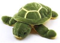 SourceHC Turtle Soft Toy - Green And Yellow  - 50 Cm (Green)