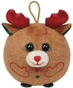 Ty Soft Toys Ty Ba Beanies Chestnut Reindeer