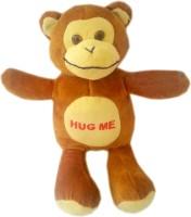 Play Toons Hug Me Monkey  - 7 Inch (Brown)