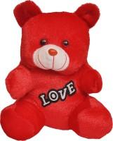 Indigo Creatives Love Valentine Cute Teddy Bear  - 9 Inch (Red)