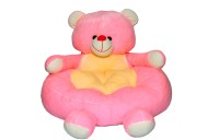 Joey Toys Baby Soft Seat Teddy  - 14 Inch (Pink)