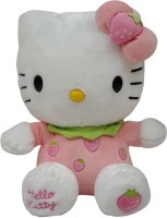 Hello Kitty Plush (strawberry)  - 10 Inch (Multicolor)
