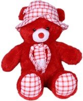 Prince Playable Soft Teddy - 21 Inch (Red)