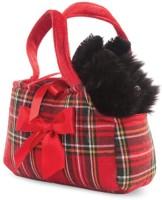 Hamleys Fancy Pal Scottie In Tartan Bag - 8 Inch  - 16 Cm (Multicolor)