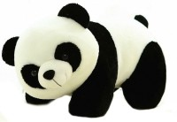 Smart Products Panda Soft Toy  - 32 Cm (White, Black)