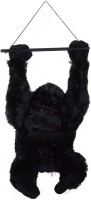 Atorakushon Cute Hanging Gorilla Teddy Bear Soft Lovely Toys  - 45 Cm (Multicolor)