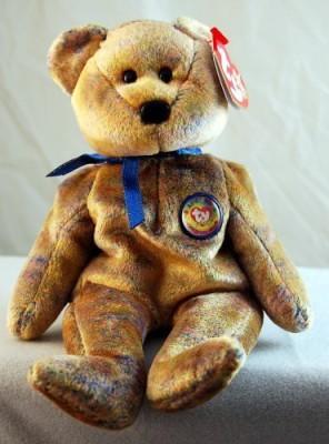 TY Beanie Babies Soft Toys TY Beanie Babies Club Iii The Bear