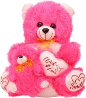 Arihant Online Pink Delighting Teddy Bear  - 23 Inch (Pink)