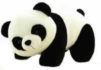 Deals India Panda Soft Toy  - 26 Cm (White, Black)