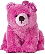 Aurora World Soft Toys Aurora World Girlz Nation Pink Polar Bear Plush11""