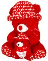 Ktkashish Toys Kashish Red Baby Teddy Bear  - 27 Inch (Red)
