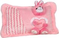 Joy Snuggling Teddy Pillow - 17 Inch (Pink)
