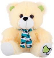 Tabby Toys Cute Teddy Bear  - 30 Cm (Yellow, Blue)