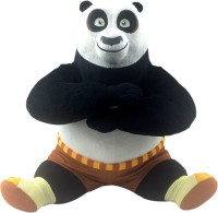 Dreamworks Kung Fu Panda Sitting Plush  - 30 Cm (Multi Colour)