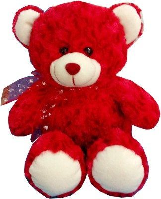 Fun&Funky Teddy Bear - 14 Inch (Red)