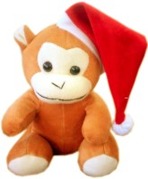 Fun&Funky Christmas Monky - 6 Inch (Brown)