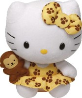 Jungly World HELLO KITTY - Safari  - 6 Inch (Multicolor)
