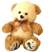 Tokenz Brown Love You Teddy Bears  - 14 Inch (Brown, Beige)