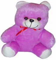 Shree Krishna Teddy Bear  - 9 Inch (Purple, White)