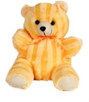 Soft Barn Peech Sitting Teddy  - 14 Inch (Yellow)