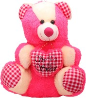 Arihant Online Pink Humble Teddy Bear  - 16 Inch (Pink)