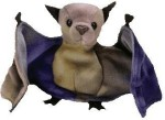 TY Beanie Babies Soft Toys TY Beanie Babies BatThe Tydyed Bat
