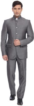 Raymond Mandarin Solid Men's Suit