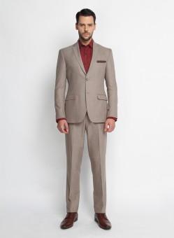 SUITLTD Leyton Single Breasted Solid Men's Suit