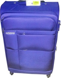 American Tourister At Speed Spinner66Cm Royal Blu Check-in Luggage