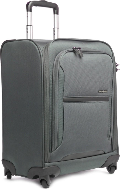 Samsonite pieno cabin luggage 19 7 charcoal price in for Samsonite cabin luggage