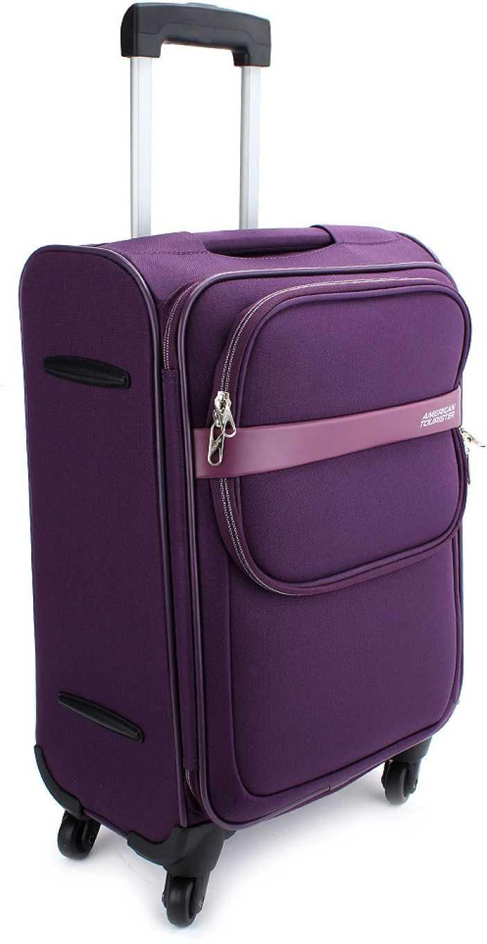 american tourister dc superlite ii expandable cabin luggage 18 purple price in india. Black Bedroom Furniture Sets. Home Design Ideas