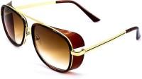 Mpro-Tech Iron Man Unisex Eye Wear Gradient Finish Lens Hollywood Attractive Wrap-around Sunglasses