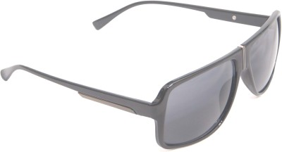 View Plus View Plus Rectangular Sunglasses (White)