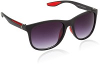 Glitters Latest Black::Red Wayfarer Sunglasses
