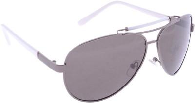 Iris Iris Eyewear Aviator Sunglasses (Black)