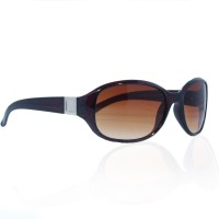 VR Designers Oval Sunglasses Brown