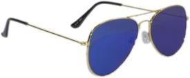 Peter Jones Reflectors Aviator Sunglasses