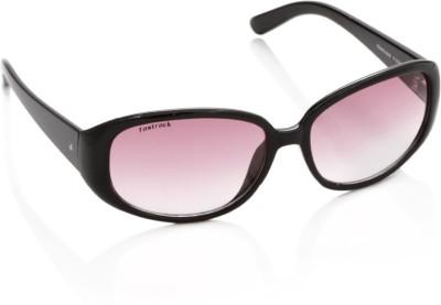 Fastrack Oval Sunglasses - SGLDNGSBZAPRKDEN