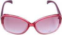Miami Blues Oval Sunglasses Pink