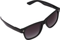 Panache Black Frame-Grey Gradient Polarised Lens Wayfarer Sunglasses