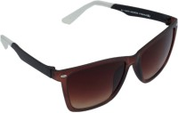 Gansta GN-11067 Brown Wayfarer Sunglasses
