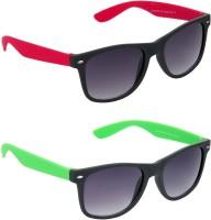 Hrinkar Combo Pack Wayfarer Sunglasses For Boys